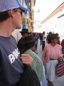 Busy street Ayacucho