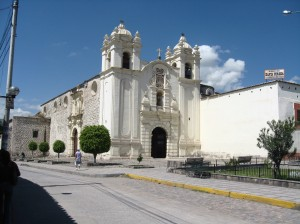 Church Ayacucho Peru