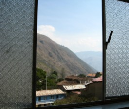 View from Hostal Samy Abancay