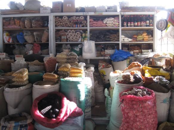 Market goods, Cusco