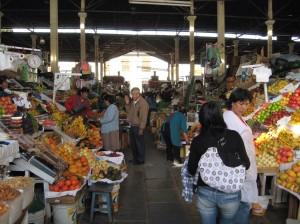 Market, Cusco, Peru