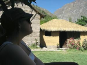 small canyon village, peru