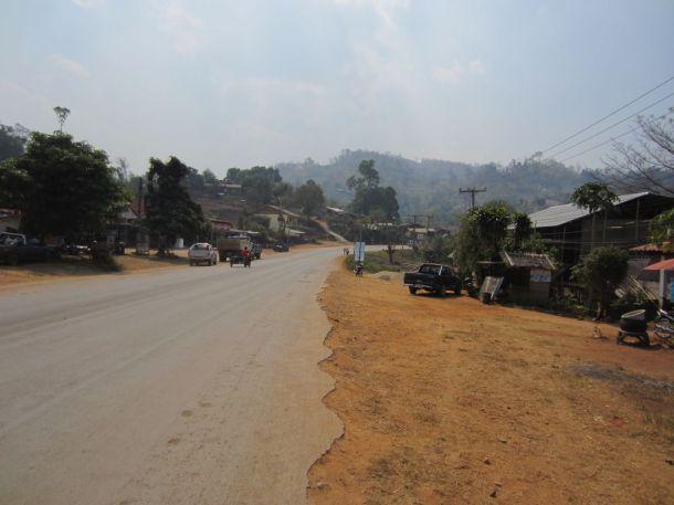 Highway 108 straight through Soppong