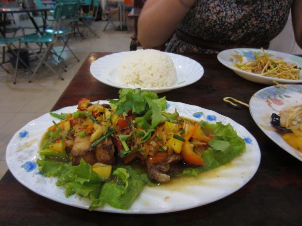 Cambodia food, fresh water fish