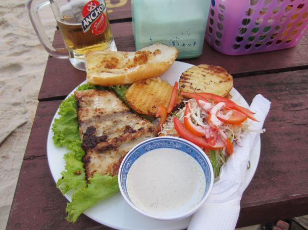 Grilled tuna Sihanoukville cambodia