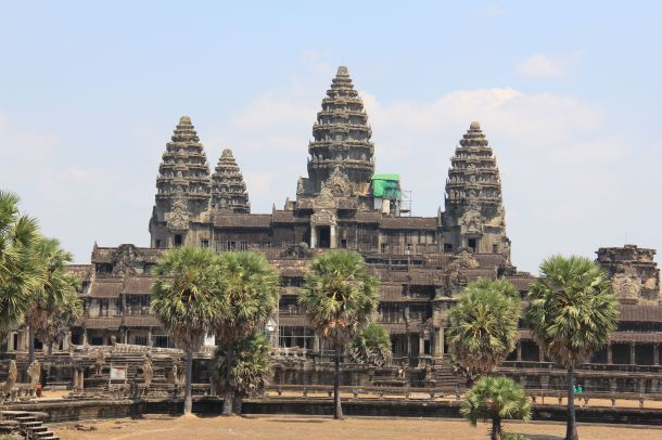 Angkor Wat in the dry season