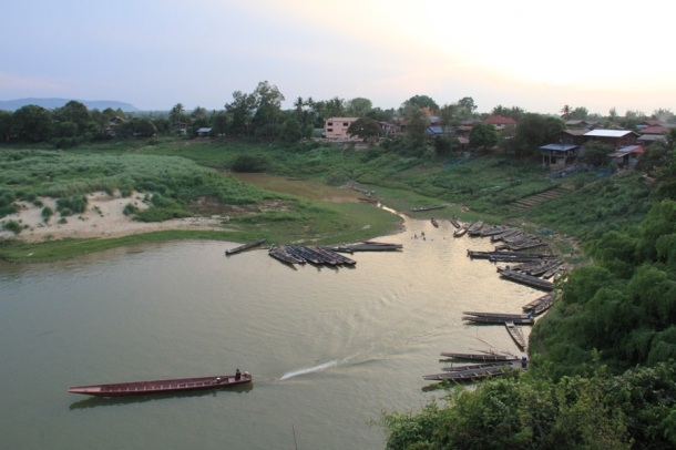 The Kading River, Laos