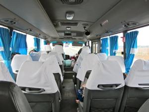 Minibus to Ben Tre, Vietnam