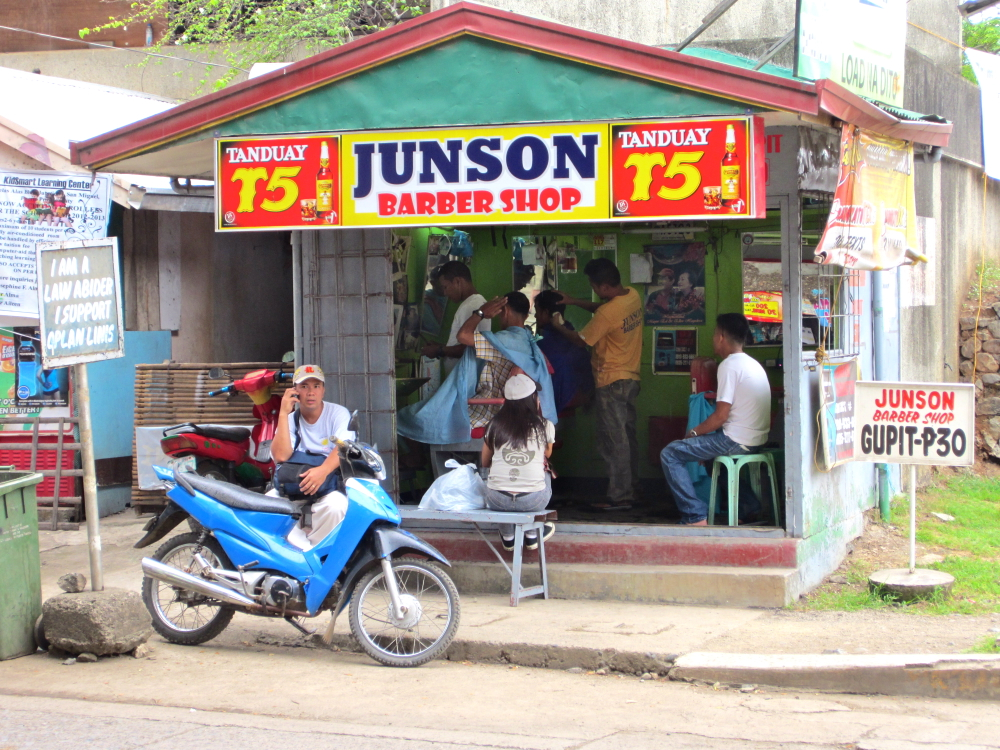 Puerto Princesa philippines barbershop
