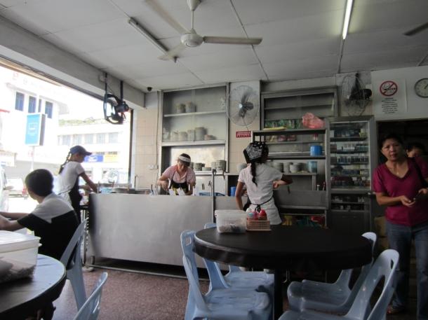 Kota Kinabalu Borneo Malaysia Chinese restaurant