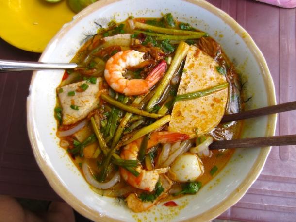 Vietnam food soup