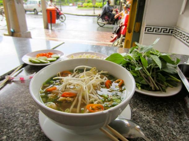 Vietnam food pho