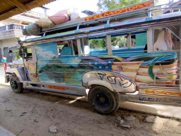 jeepney transportation palawan philippines