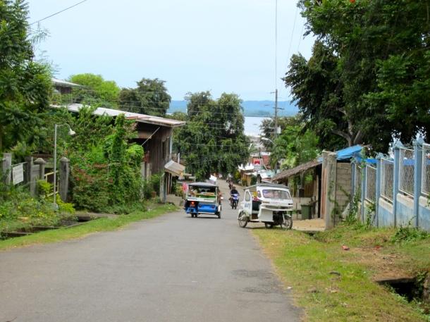 Street in Puerto Princesa Palawan Philippines