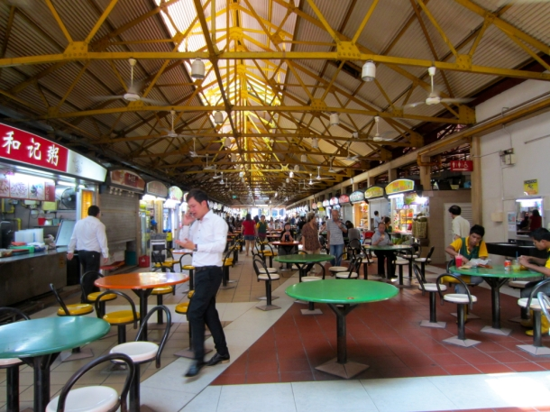 Singapore food hawker centre