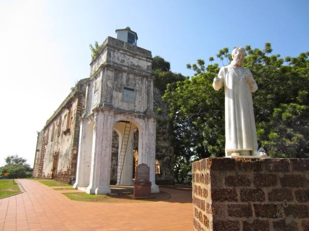 St. Paul's Hill, Melaka, Malaysia