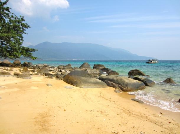 South of Monkey Beach Pulau Tioman, Malaysia