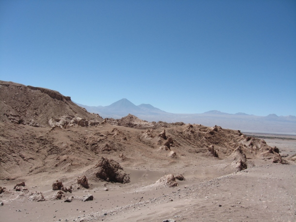 Valle de la Luna, San Pedro de Atacama, Chile.