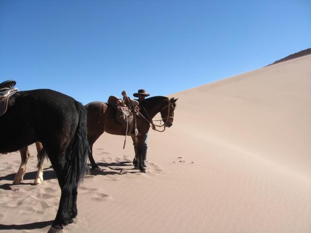 Hose riding with La Herradura