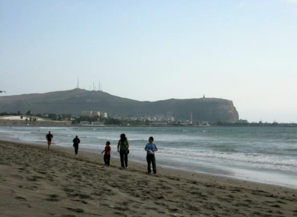 Chinchorro beach, Arica, Chile