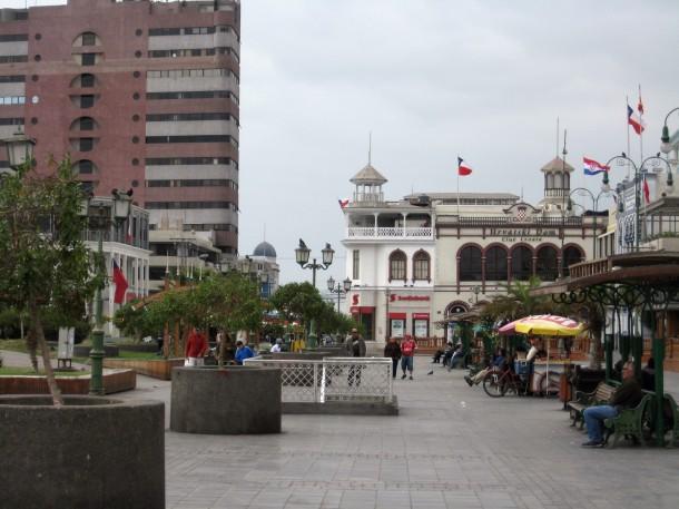 Arturo Prat Square, Iquique, Chile