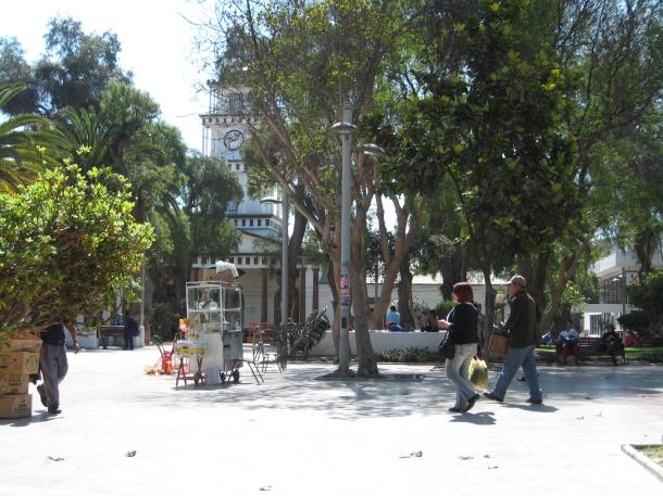 Main square, Copiapo, Chile.