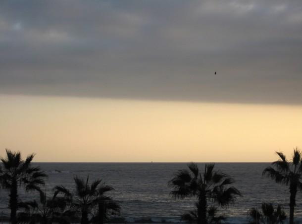 Sunset from the Backpacker's Hostel terrace