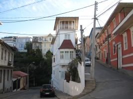 There are scenes like this all across Valparaiso.