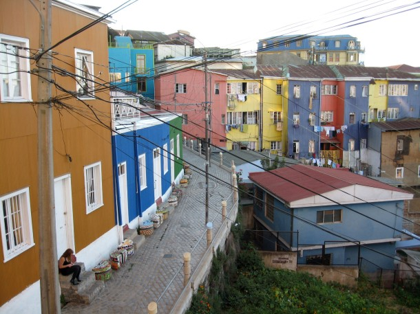 Part of Valparaiso's Open Air Museum.