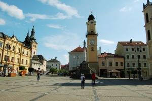main square Banska Bystrica Banská Bystrica central Slovakia