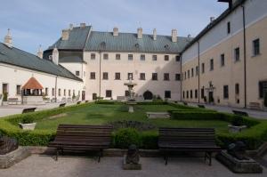 Červený Kameň hrad Red stone castle Casta Slovakia