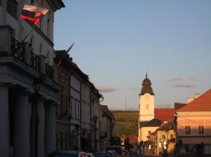 church Levoca eastern Slovakia