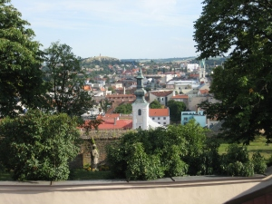 Nitra view from the castle Slovakia