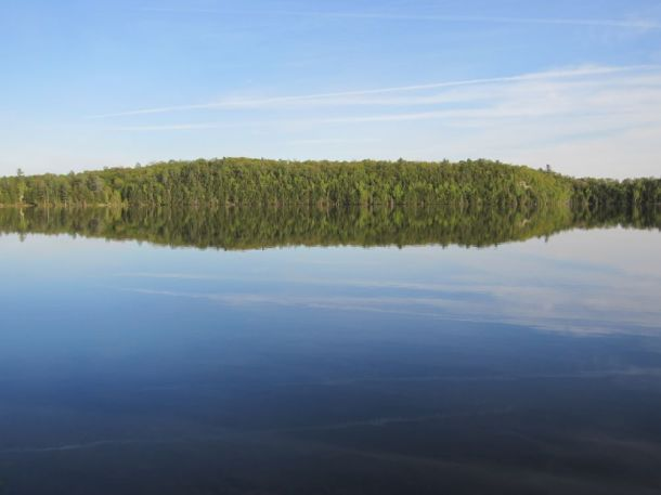 Black Lake in Ontario Canada