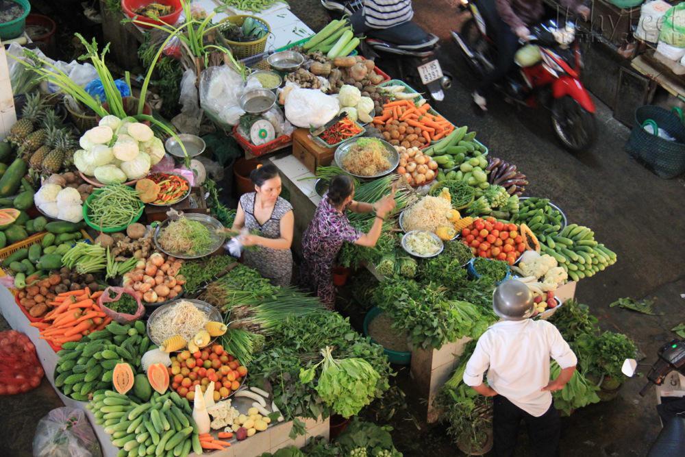 Pijace, tržnice, marketi, u raskošnim bojama Vietnam_market